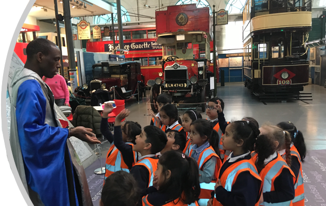 Year 1 at the Transport Museum